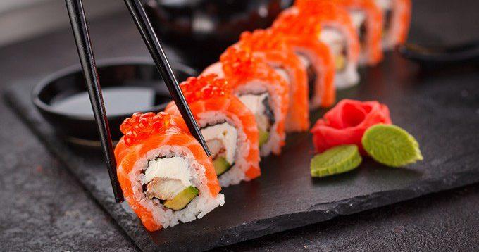 (Рус) Услуги доставки суши на дом