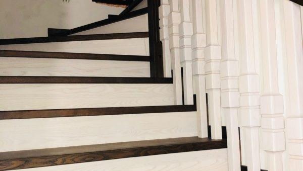 (Рус) Как выбрать качественную лестницу из дерева на заказ