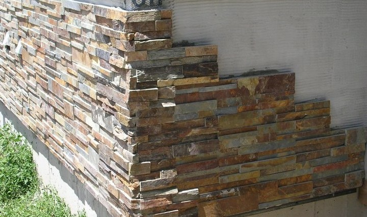 Искусственный камень White Hills: варианты кладки