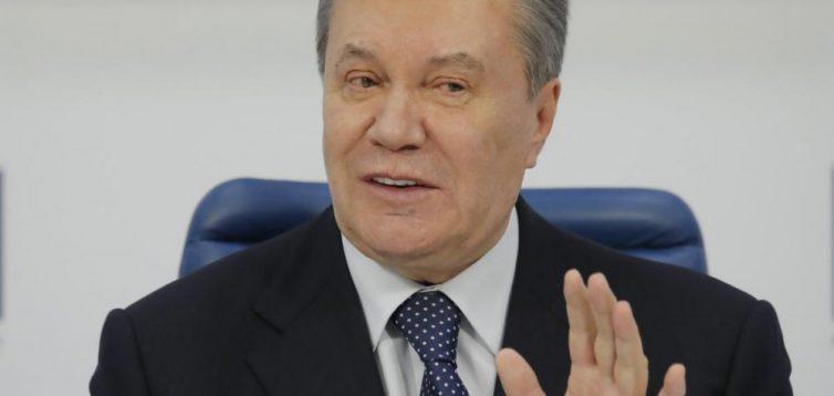 Янукович судитиметься з Порошенком і Яценюком