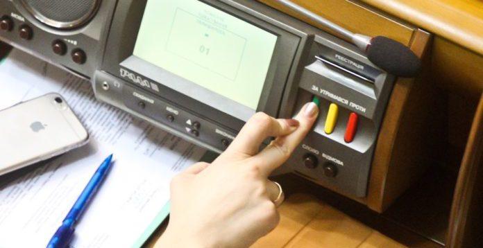 Депутати ВР проголосували за зміни до виборчого кодексу