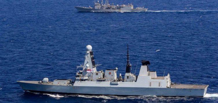 У Чорне море увійшли військові кораблі НАТО
