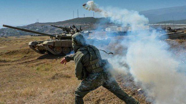 Росія розпочала масштабні військові навчання в окупованому Криму