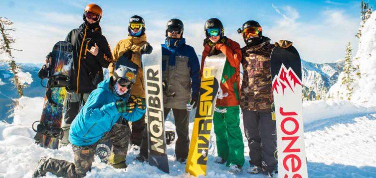 (Рус) Прокат сноубордов и горнолыжного оборудования