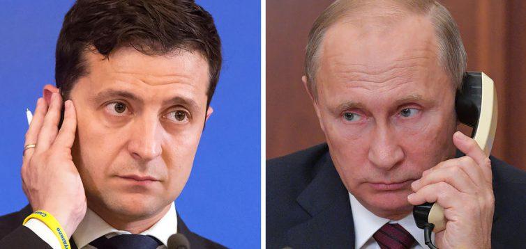 Зеленський зателефонував Путіну напередодні роззброєння ЗСУ