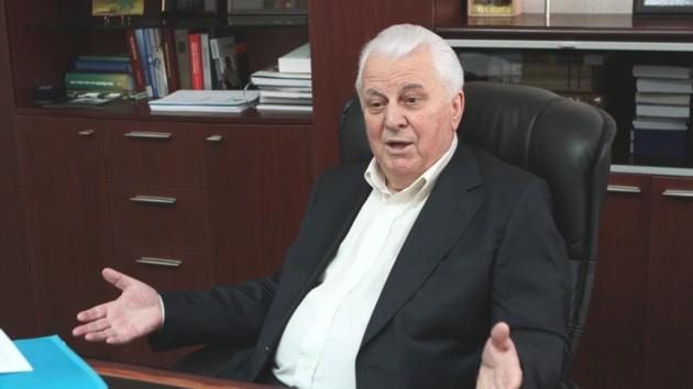 Кравчук заявив, що готовий іти на поступки Росії по Донбасу