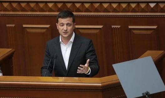 Зеленський виголосив промову у ВР до річниці Декларації про суверенітет. Відео