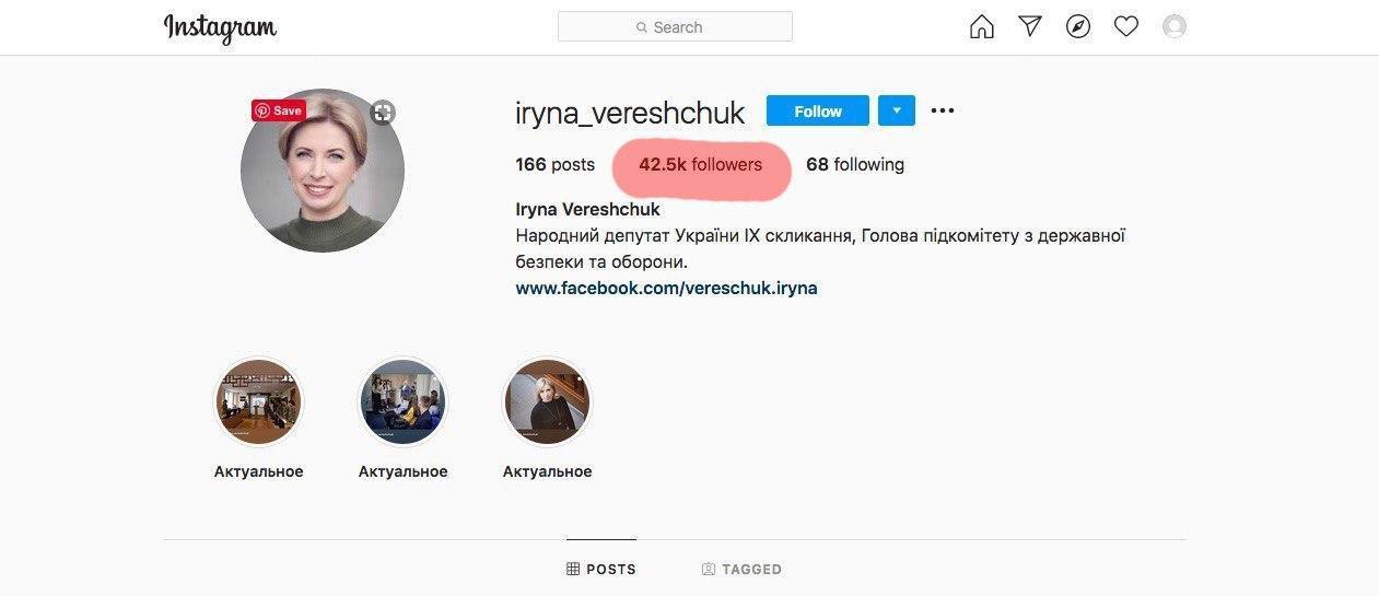 Кандидатка в мери Києва Верещук купила десятки тисяч ботів в соцмережі