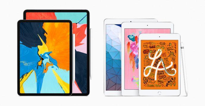 Новые модели iPad