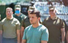 Зеленський опублікував відео-звіт про відвідування зони ООС