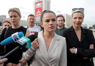 У штабі Тихановської відмовились визнавати результати виборів в Білорусі