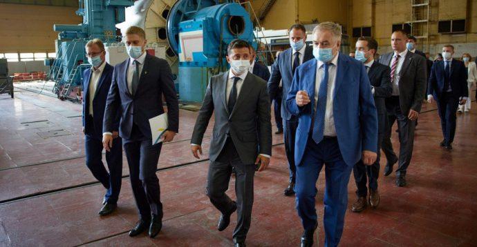 Зеленский заявил, что «Южмаш» может сравниться с компанией Илона Маска
