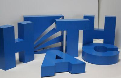 (Рус) Применение объемных букв в наружной рекламе