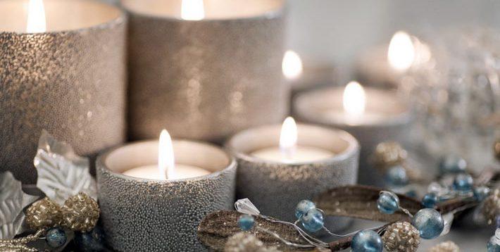 (Рус) Как сделать свечи для декора своими руками