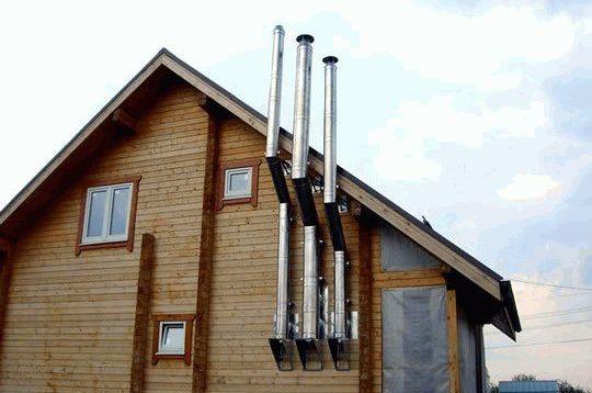 (Рус) Высота дымохода для твердотопливного котла