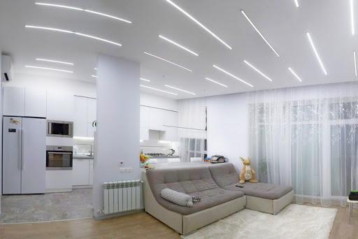 (Рус) Преимущества светодиодного освещения в интерьере помещения