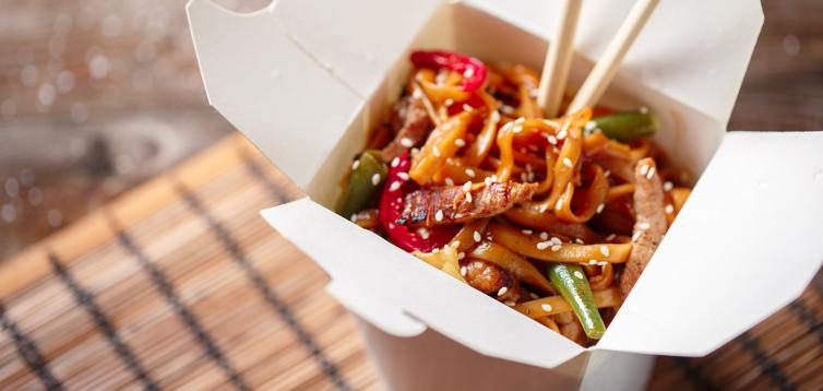 (Рус) Как заказать китайскую еду на дом и офис