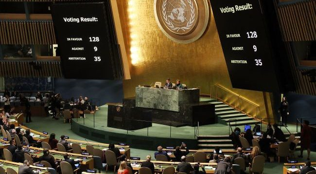 Генасамблея ООН підтримала посилену резолюцію України щодо Криму