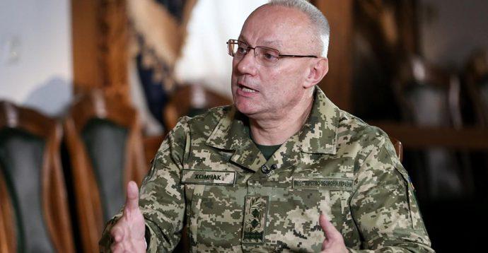 Хомчак заявив про винних у проблемах з відновлення запасів військово-технічного майна