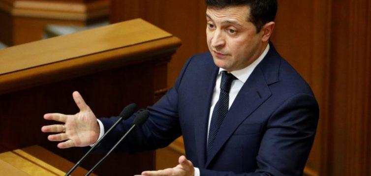 Зеленський просить ВР не розглядати його законопроєкт про перезавантаження КС до певного моменту