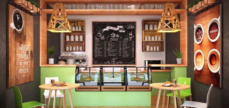 (Рус) Качественный дизайн интерьера кафе и ресторанов