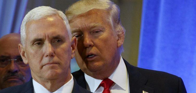 Вице-президент США отказался отстранять Трампа от власти