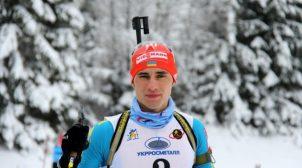 Украинец выиграл гонку преследования на чемпионате Европы по биатлону