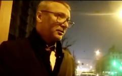 П'яний заступник міністра Немилостивий побився з поліцейськими. ВІДЕО