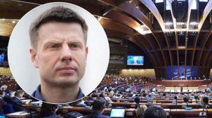 """Гончаренко в ПАРЄ відповів на хамство делегату РФ: """"Це там ви граф Толстой, а тут ви …. простой"""". ВІДЕО"""