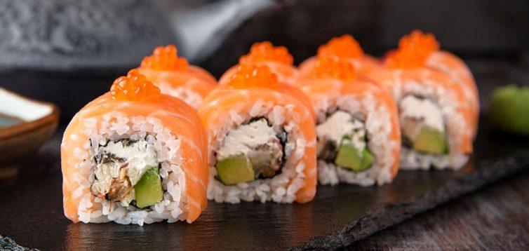 (Рус) 5 причин заказать доставку суши в Mister Cat