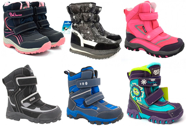 Как выбрать термо обувь для детей