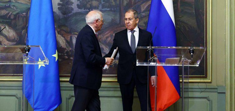 Представник ЄС Боррель заявив, що відносини Євросоюзу та РФ далекі від задовільних