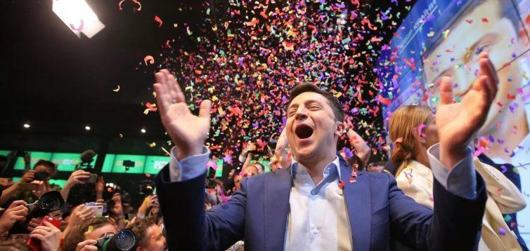Зеленский во время карантина устроил вечеринку в честь своего дня рождения. ВИДЕО