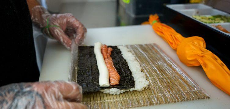 (Рус) Как приготовить суши дома