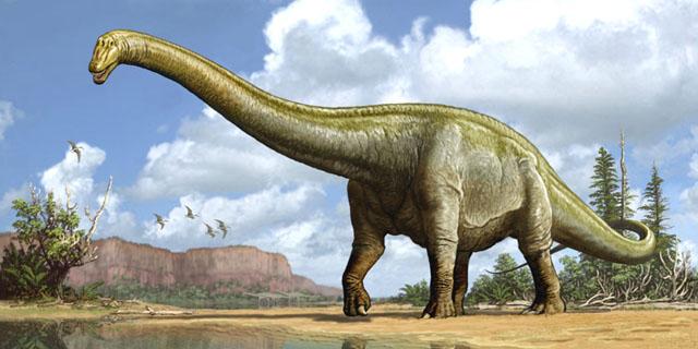 Вчені відтворили вигляд величезного динозавра, що жив 100 млн років тому. ФОТО