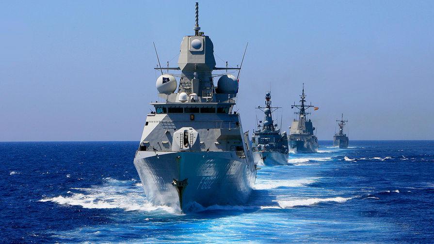 Група кораблів НАТО зайде в порт Одеси і проведе навчання з ВМС України