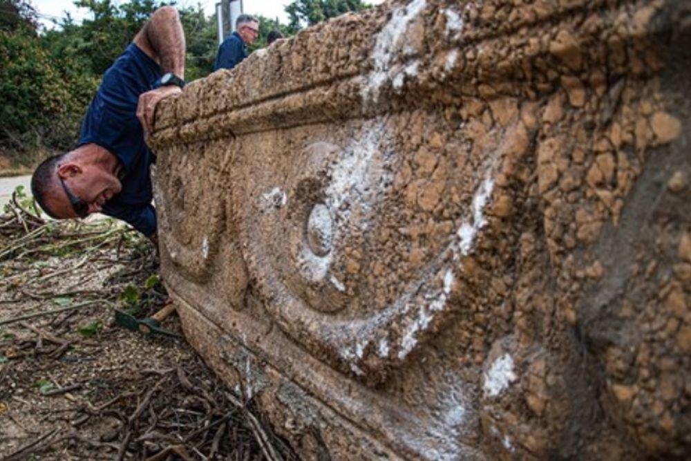 В ізраїльському сафарі-парку випадково знайшли розкішні римські саркофаги