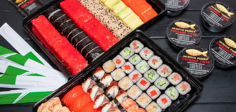 (Рус) Как купить суши с доставкой