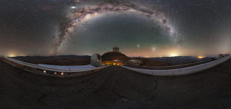 Вчені з'ясували причину викривлення Чумацького шляху