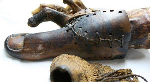 Археологи показали, як виглядав найдавніший протез. ФОТО
