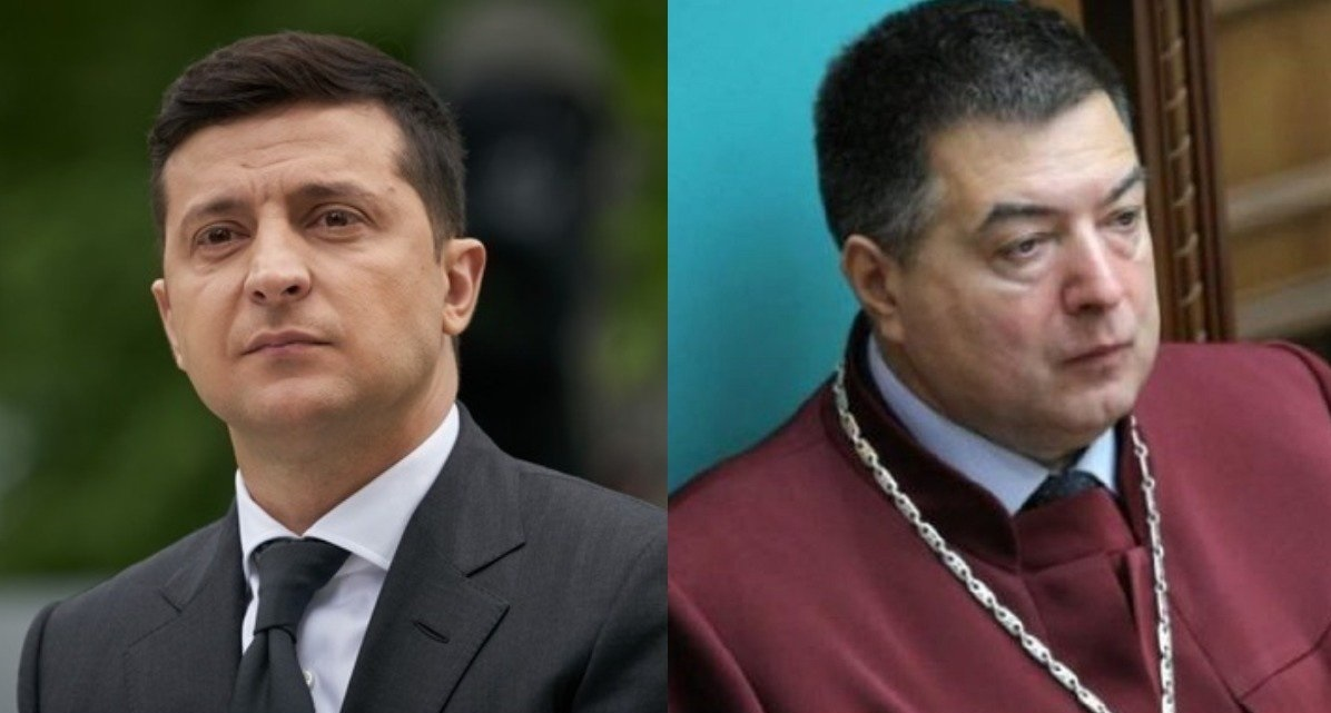 Зеленський відсторонив суддю КС Тупицького на місяць