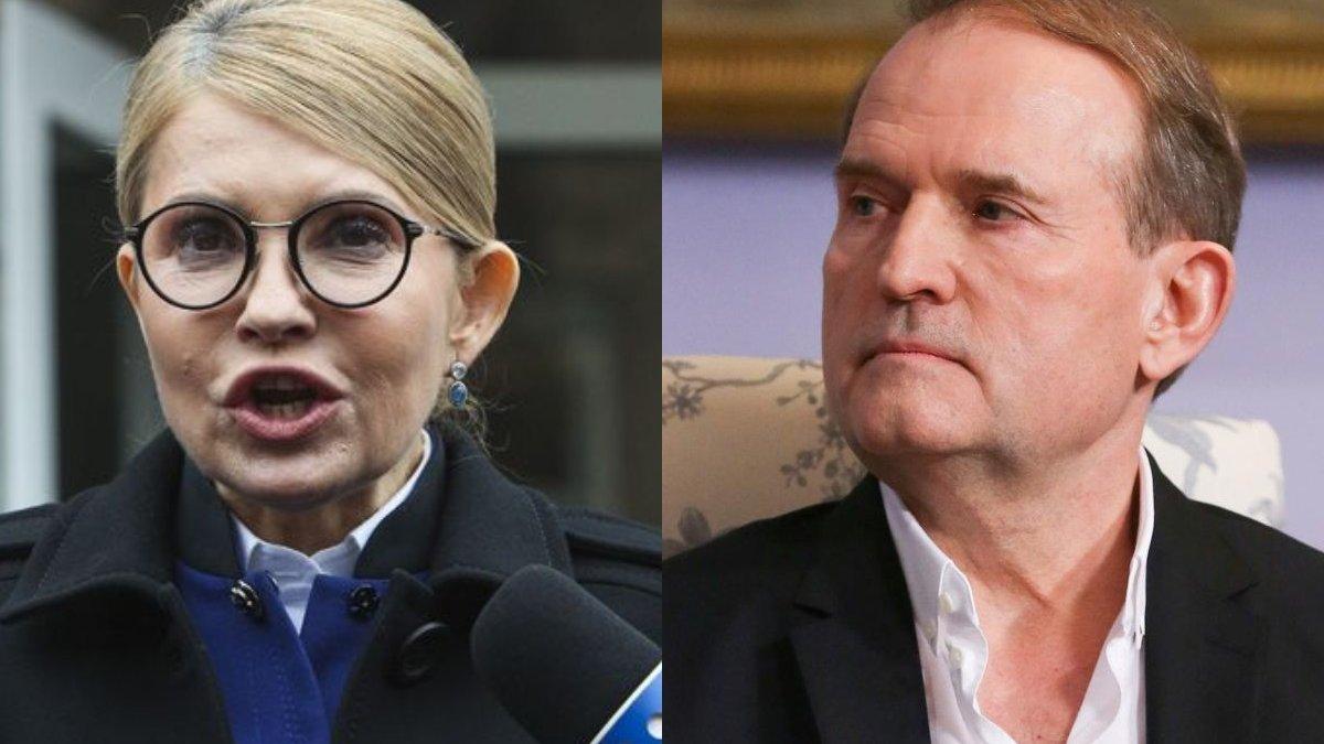 """""""Санкції для каналів Медведчука"""": що означає мовчання Тимошенко"""
