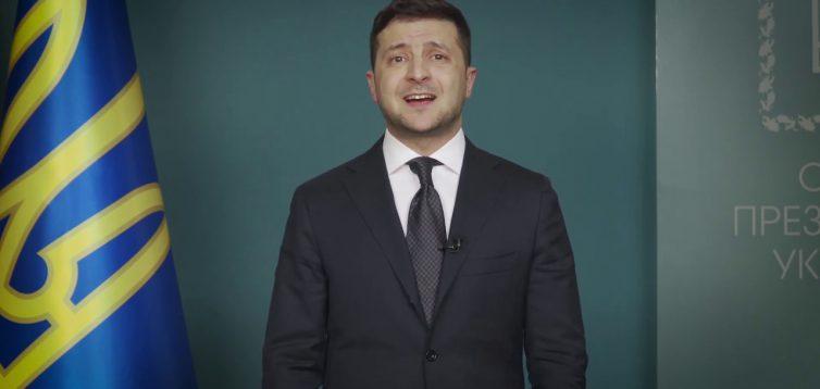 Зеленський записав відеозвернення російською, де пояснив рішення РНБО