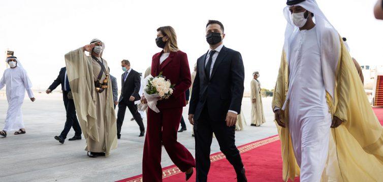 Зеленський прокоментував свою поїздку до ОАЕ