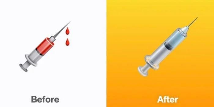 Apple спеціально змінила емодзі шприца, щоб підтримати вакцинацію проти Covid-19