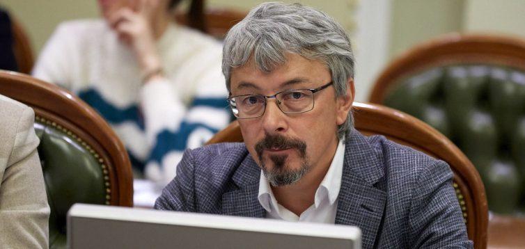 Міністр культури Ткаченко підтримав ідею відтермінування штрафів за порушення мовного закону