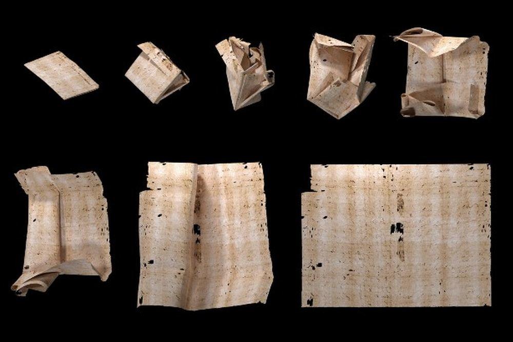 Историки при помощи зубного рентгена прочитали закрытые письма 17 века