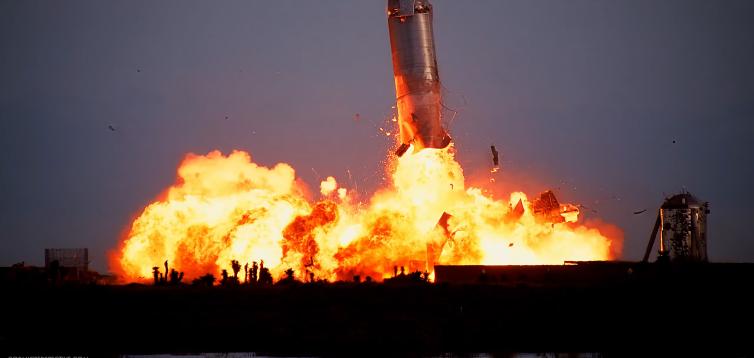 Ілон Маск назвав причину вибуху корабля Starship