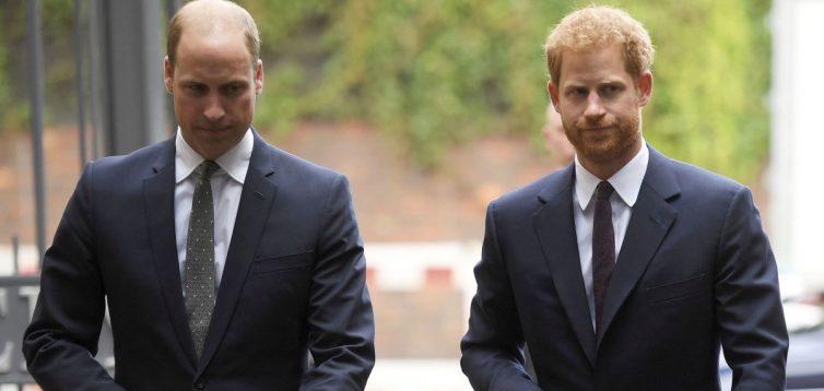 СМИ сообщили причину ссор между принцами Уильямом и Гарри