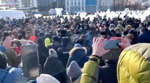 В России планируют провести самый масштабный митинг против власти